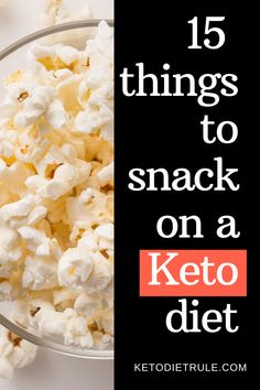 Looking for crazy easy keto snacks on the go? These 15 BEST little to no prep low-carb snacks will help you lose weight and stay in ketosis. Best Healthy Diet, Best Diet Foods, Diet Food List, Healthy Diet Recipes, Keto Snacks, Keto Recipes, Keto Foods, Diet Meals, Eat Healthy