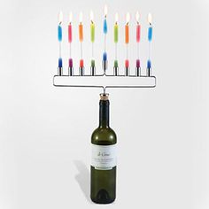 6 Hanukkah Gifts: Menorah Cork
