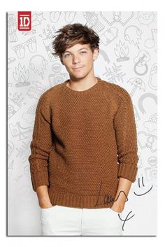 One Direction 2013 Louis Poster iPosters From £5.99