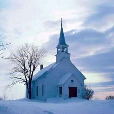 Country Church In Winter Photography Images Wallpaper Amp Ecard Abandoned Churches, Old Churches, In China, Winter Photography, Image Photography, Scenic Photography, Night Photography, Landscape Photography, Church Pictures
