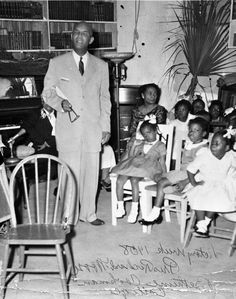 Florida Memory - Bethune-Cookman College president Dr. Richard V. Moore in New Smyrna Beach, Florida.