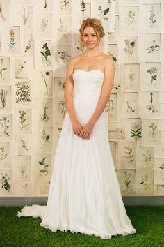 Simple yet elegant bridal gown