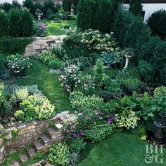 This Planting Guide Solves All of Your Sloped Garden Problems Garden Room Galleries Sloped Backyard, Sloped Garden, Plants, Landscape Projects, Backyard Landscaping, Garden Problems, Outdoor Gardens, Hillside Landscaping, Landscaping A Slope
