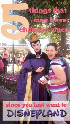 Some things that changed at Disney since the last time I went.  Hopefully they're good tips for you too!
