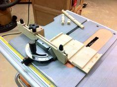 Simple Table Saw Miter Gauge/Stop Jig