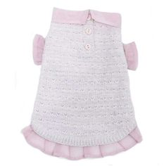 Pink and Proper Sweater by Oscar Newman: adorable dog sweater