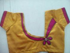 #babyblouse Patch Work Blouse Designs, Simple Blouse Designs, Stylish Blouse Design, Saree Blouse Neck Designs, Dress Neck Designs, Kurta Designs, Sumo, Designer Blouse Patterns, Hand Designs