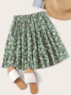 Loyalt Womens Pure Color High Waist Pleats Bottoming Half Body Skirt