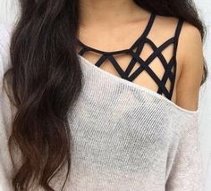 Geometric - Cute Bralette Outfits For When You Just Can't With A Real Bra - Photos Strappy Lace Bralette, Mode Chic, Mode Inspiration, Teen Fashion, Fashion Hair, Dress Fashion, Spring Summer Fashion, Style Summer, Passion For Fashion