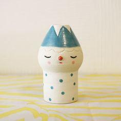 Polkaros Ceramic Flower Pot {Fuji} | UGUiSU Online Store