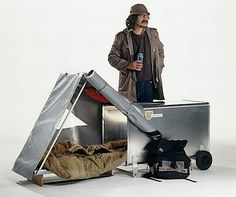 homeless tent car