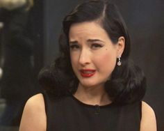Dita Von Teese offers some insight for those concerned about maintaining beauty while aging.