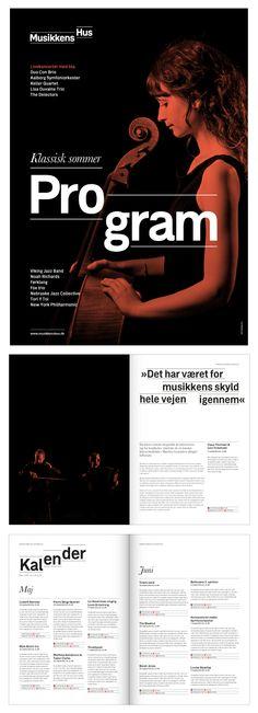 Musikkens Hus by Julian Hansen, via Behance