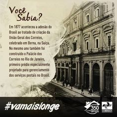 Correios têm 350 anos de história e inovação para oferecer aos brasileiros, traduzidos a cada dia em novos e melhores serviços.