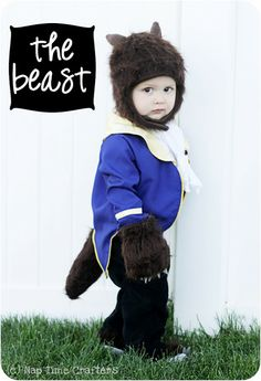 Beast Inspired Costume and free pattern