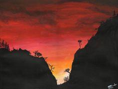 """CUMBRE ESCARLATA"" by Daniel Reynoso (Ankhsethamon). acrylic painting Painting, Art, Crimson Peak, Paintings, Art Background, Painting Art, Kunst, Performing Arts, Painted Canvas"