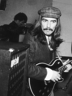 George Harrison Singer with the Beatles Pop Group December 1969 ...