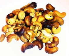 Hickory & Apple Wood Smoked Cashews 16oz Gourmet Smoked