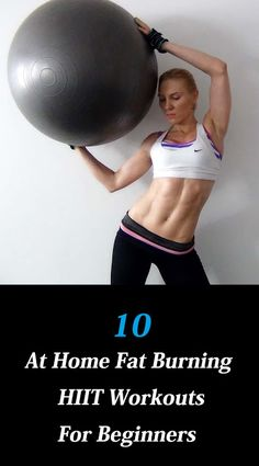 10 At Home Fat Burning HIIT Workouts For Beginners #Beginners #HIIT Workouts