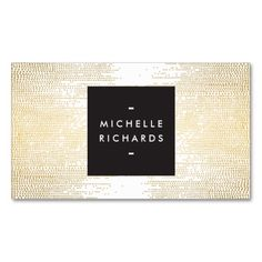 MODERN and SIMPLE BLACK BOX on GOLD DOT PATTERN Business Cards. I love this design! It is available for customization or ready to buy as is. All you need is to add your business info to this template then place the order. It will ship within 24 hours. Just click the image to make your own!