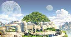 Hopepunk and Solarpunk: On Climate Narratives That Go Beyond the Apocalypse Apocalypse Art, Apocalypse Survival, Eco City, Futuristic City, Ecology, Trees To Plant, Fantasy Art, Illustration, Concept Art