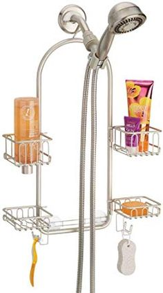 IMEEA Electric Toothbrush Holder Waterproof Resin Toothpaste Holder Stand for Shower Bathroom