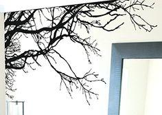 Vinyl Wall Art Decal Sticker Tree Leaves Grass Decoration Huge - Vinyl stickers treeamazoncom stickebrand vinyl wall decal sticker tree top branches