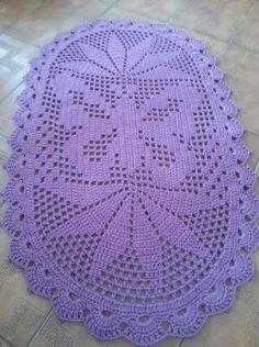 Crochet Rug Patterns, Crochet Blocks, Baby Knitting Patterns, Red Table Decorations, Decoration Table, Crochet Cactus, Filet Crochet, Crochet Tablecloth, Crochet Doilies