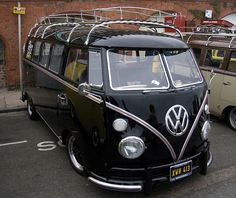 Woah! Car Lust. Black cars with chrome trim and tan interiors - every time!