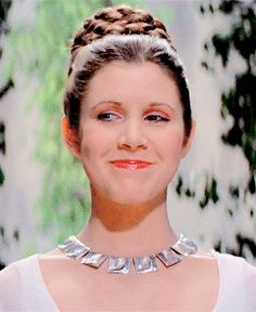 Animated Gif - Carrie Fisher - Princess Leia - Star Wars - A New Hope