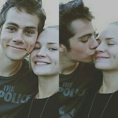 Dylan Obrien and britt robertson .. they are adorbs