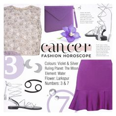 """Fashion Horoscope: Cancer"" by alexandrazeres ❤ liked on Polyvore featuring Issa, Anine Bing, Paperthinks, Bling Jewelry, fashionhoroscope and stylehoroscope"