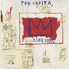 Artwork by Jean Michel Basquiat, Untitled (Per Capita), Made of screenprint in colours