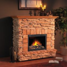Napoleon EF31 Casaloma http://www.classicfireplace.ca/fireplace-mantle.html