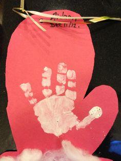 handprint art before