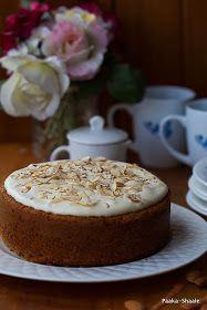 Paaka Shaale: The best Eggless carrot cake Eggless Recipes, Eggless Baking, Cake Recipes, Cooking Recipes, Healthy Cake, Vegan Cake, Tea Cakes, Cupcake Cakes, Cupcakes