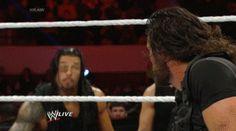 Roman Reigns not having it. Roman Empire Wwe, Roman Reigns Gif, Wwe Gifs, Beautiful Joe, Wwe Raw And Smackdown, Roman Reigns Dean Ambrose, Wwe Funny, Best Wrestlers, The Shield Wwe