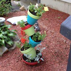 Cute garden idea...