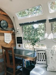 Airstream Bambi, Airstream Basecamp, Airstream Vintage, Airstream Trailers For Sale, Airstream Living, Caravan Vintage, Airstream Campers, Airstream Remodel, Airstream Renovation