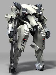 JunlingArt采集到【科幻类】机甲