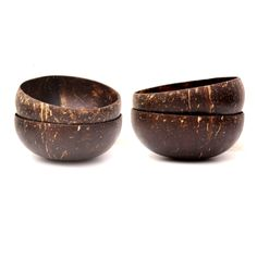 These coconut shell bowls have a smooth exterior like a traditional wooden bowl and have been polished with virgin coconut oil. These bowls are hand made from real coconuts grown in the tropical island paradise of Bali, Indonesia. Each coconut is cut, cleaned and then polished. Absolutely nothing artificial is used during the process from coconut to coconut bowl. Coconut bowls are a beautiful product of nature, with each bowl having its own shape, size, colour and pattern. Nobody else in…