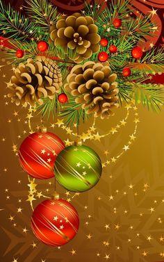 Christmas Scenes, Noel Christmas, Christmas Wishes, Christmas Crafts, Christmas Decorations, Christmas Ornaments, Holiday Decor, Rustic Christmas Trees, Vintage Christmas Cards