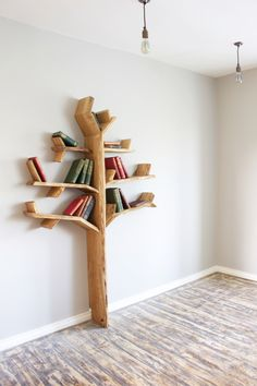 1.8m Oak Tree Shelf - Made to Order by BespOakInteriors on Etsy https://www.etsy.com/listing/207410266/18m-oak-tree-shelf-made-to-order