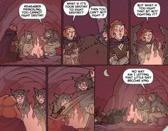 """""""Sooth"""" from Oglaf. Profound, but be warned; not a workplace-friendly comic. Reeeeeally not a workplace-friendly comic. Found that out the hard way..."""
