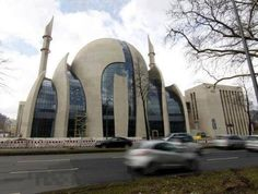 Beautiful Modern Mosque in Cologne