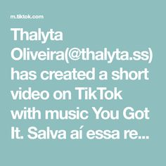 Thalyta Oliveira(@thalyta.ss) has created a short video on TikTok with music You Got It. Salva aí essa receita 🤍 #fy #fyp #foryou #foryoupage #porto #portugal #brasil #pravoce #viral #viraliza #recetas #receita #cake #bolodemilho You Get It, How To Get, Portugal, Ss, Create, Music, Porto, Recipes, Musica