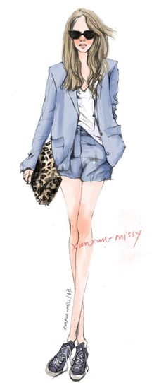 Xunxun Missy Fashion Illustration