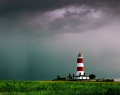 Happisburgh Lighthouse Jet Lag, Norfolk, The Good Place, Sunrise, To Go, Around The Worlds, Clouds, Sky, Explore