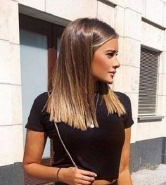45 catchy hair color ideas for brunettes to try this fall . 45 catchy hair color ideas for brunettes to try this fall Gray ombré hair is now a trend. Brown Hair Looks, Brown Blonde Hair, Hair Color For Black Hair, White Hair, Neutral Blonde, Hair Color 2018, Green Hair, Ombre Hair, Balayage Hair