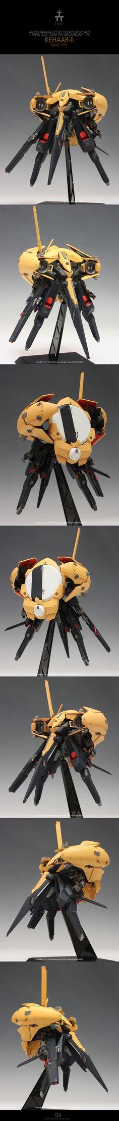 1/144 [C3xHobby] Resin Kit Remodeling by HERO: RX-124 Gundam TR-6 Kehaar-II CORPUSCULUM